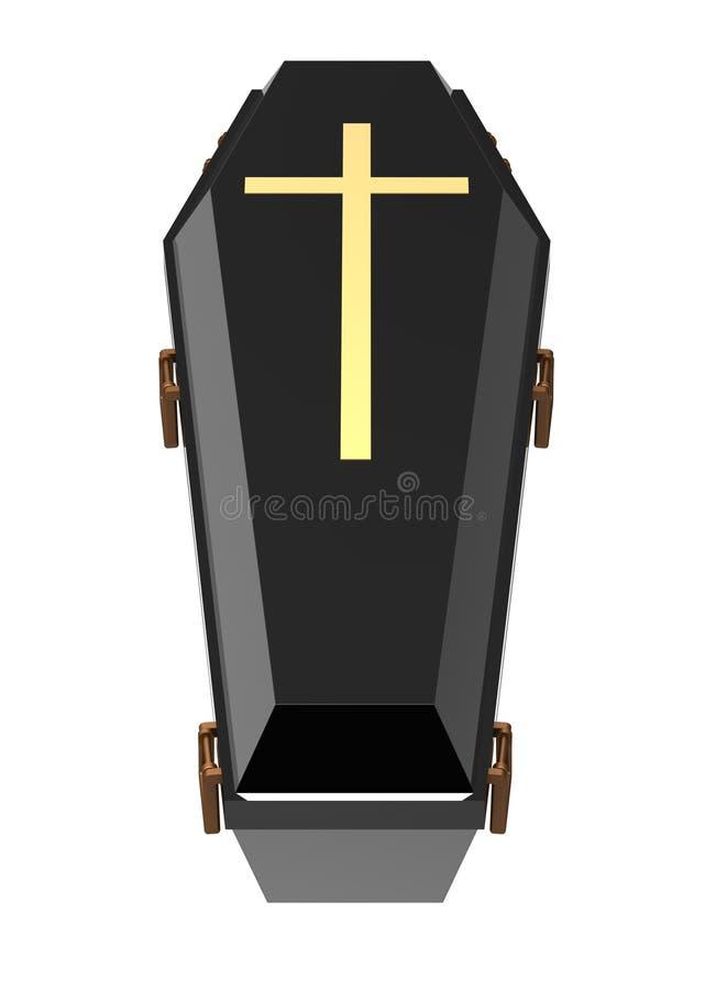 Гроб иллюстрация штока