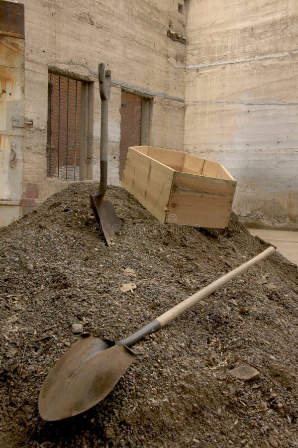 гроб стоковые фото