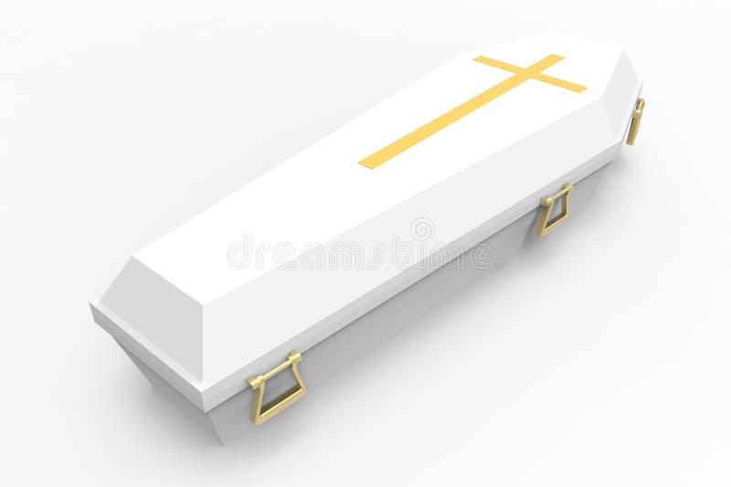 гроб иллюстрация вектора