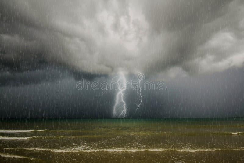 Гроза. стоковое фото