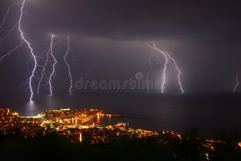 гром шторма стоковое фото rf