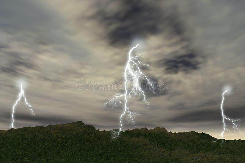 гром шторма стоковые изображения