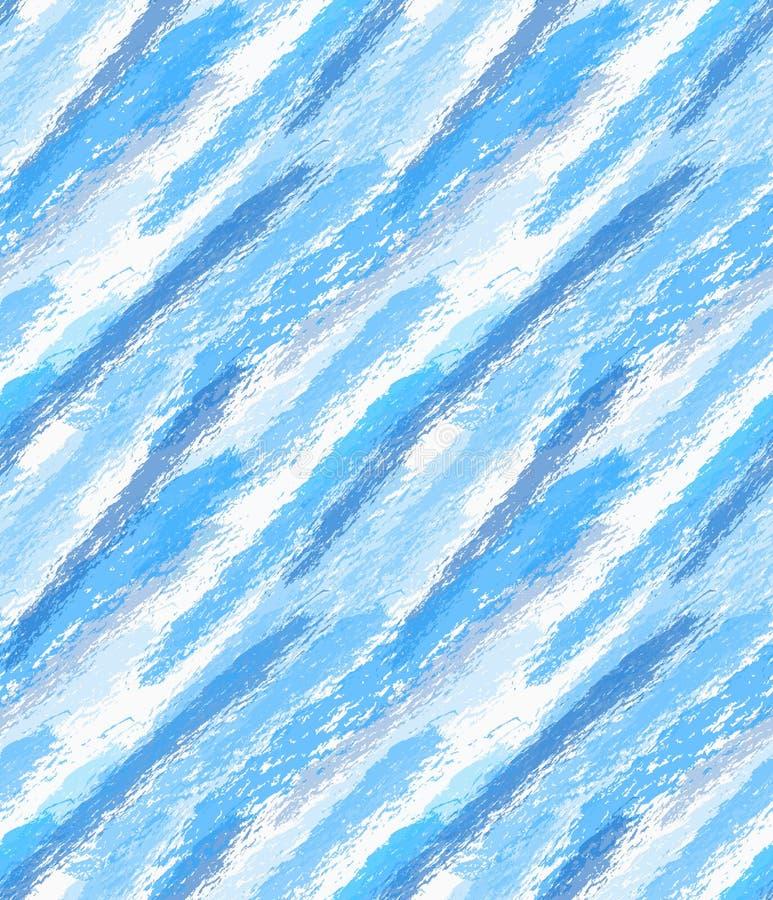 Грубая акварель сини щетки бесплатная иллюстрация