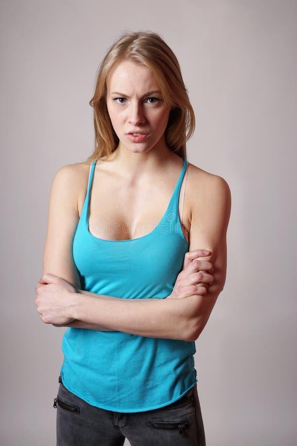 грубая женщина стоковое изображение