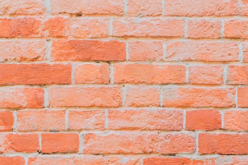 Грубая красная кирпичная стена Текстура кирпичной кладки для современной предпосылки, дизайн обоев или знамени стоковые фото