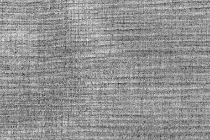 Грубая серая linen ткань стоковое изображение rf