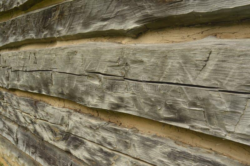 Грубая срубленная винтажная деревянная деталь стоковые фотографии rf