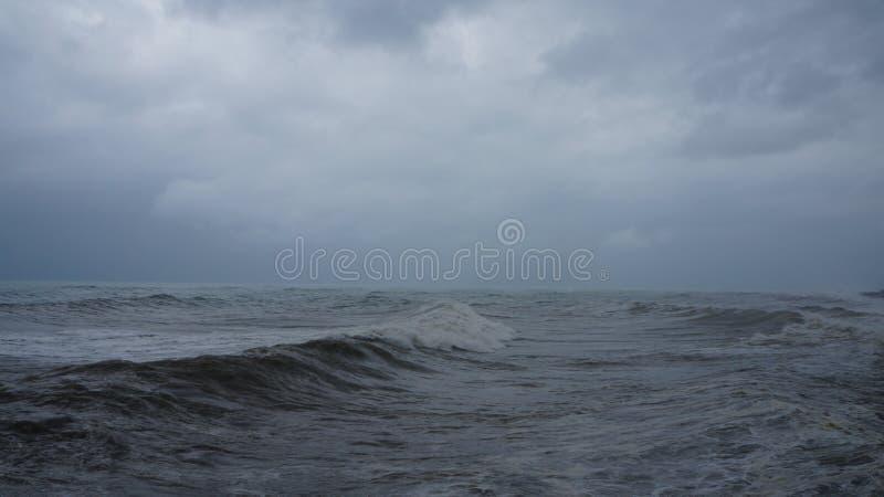 Грубое Чёрное море стоковые изображения rf