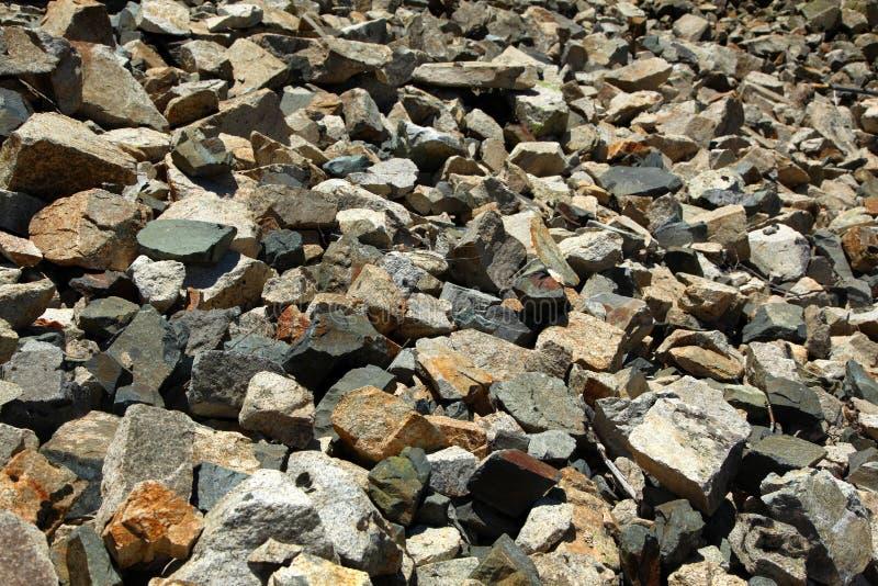 Грубые камни стоковое фото