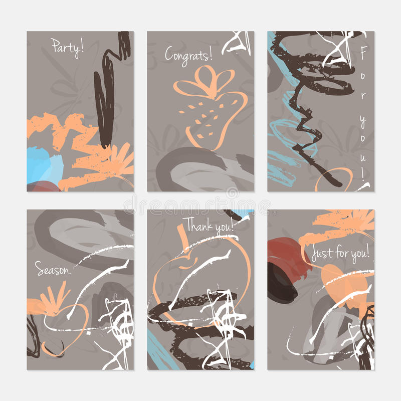 Грубые сделанные эскиз к яблоко и клубника на отметке чистят ходы щеткой бесплатная иллюстрация