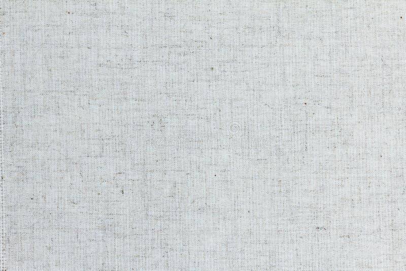 Грубый linen конец текстуры вверх, предпосылка стоковое изображение rf