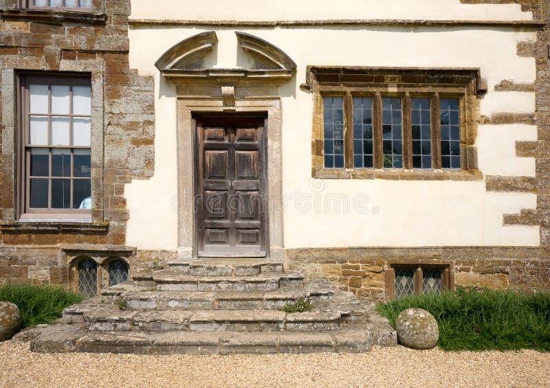 Грузинская задняя дверь стоковая фотография rf