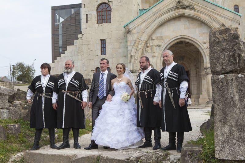 Грузинская свадьба стоковые фотографии rf