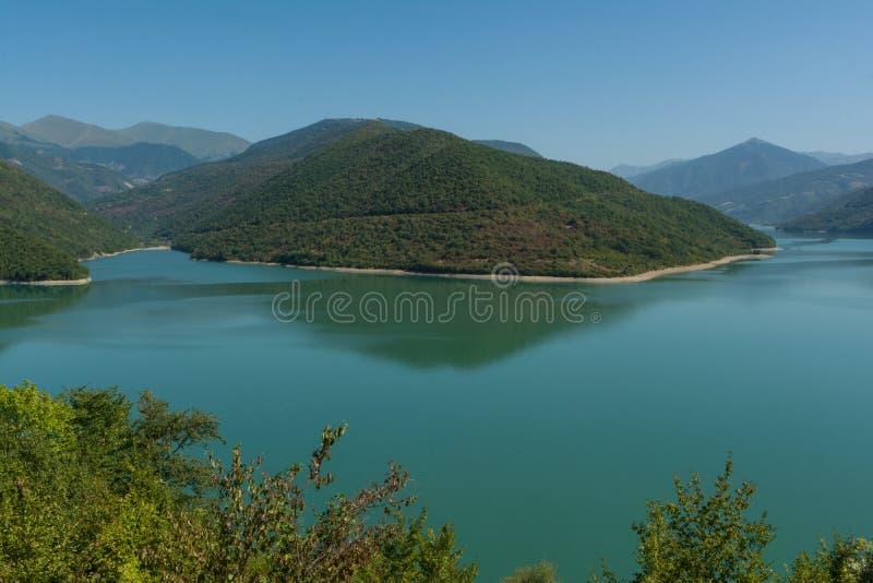 Грузинский воинский резервуар Zhinvali дороги стоковые фото