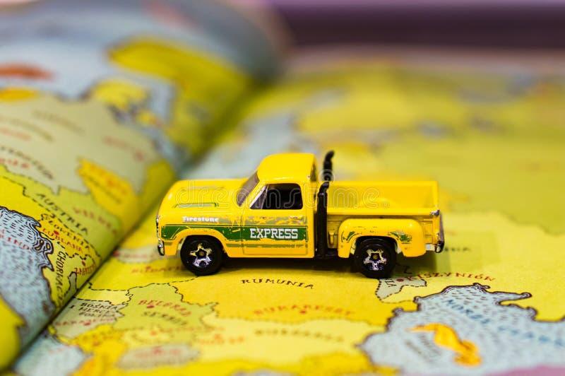 Грузовик для игрушек стоковые фото