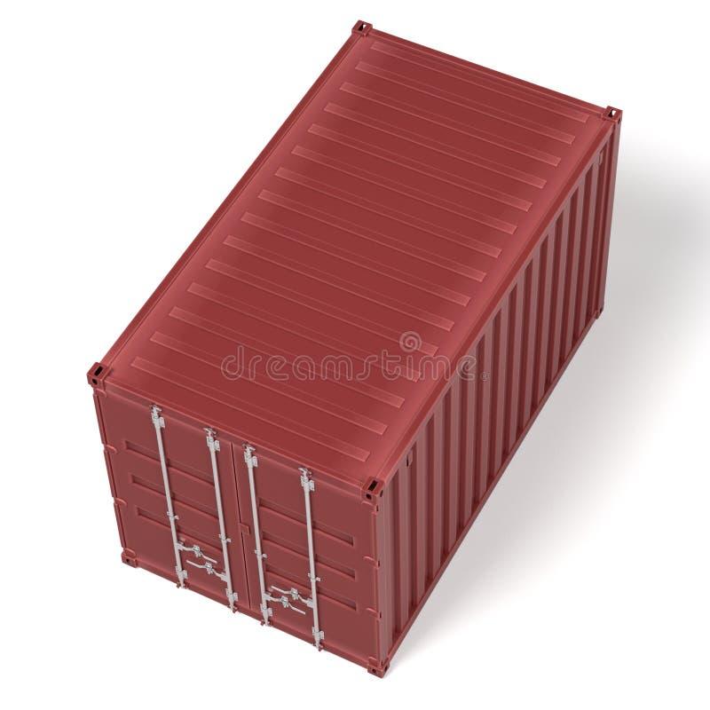 Грузовой контейнер бесплатная иллюстрация