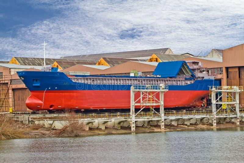 грузовой корабль стоковая фотография rf