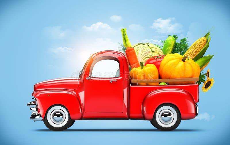 Картинки машина с овощами