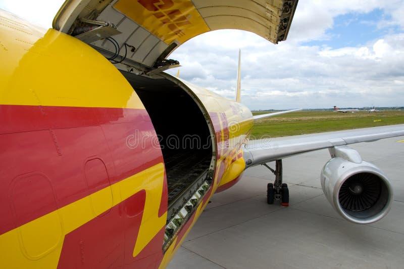 груз самолета стоковые изображения rf