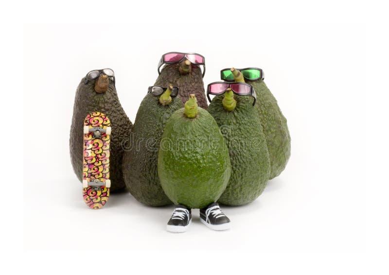 группа авокадоа стоковое изображение rf