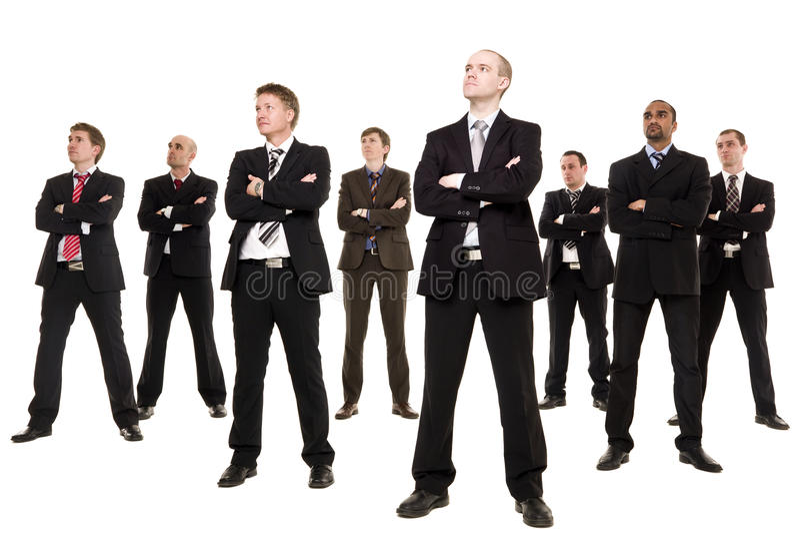 группа бизнесменов стоковая фотография