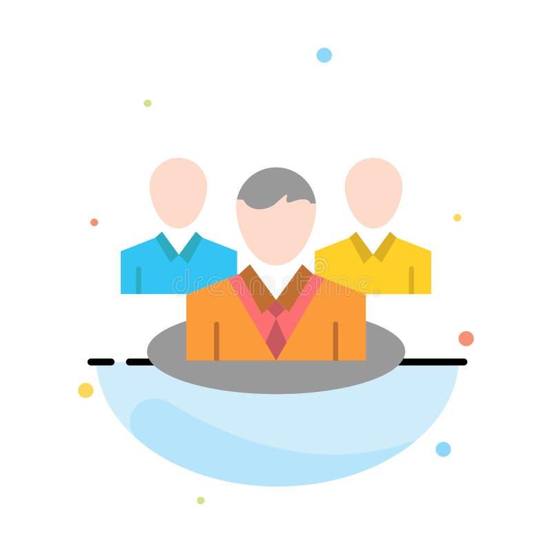 Группа, болтовня, сплетня, шаблон значка цвета конспекта разговора плоский бесплатная иллюстрация