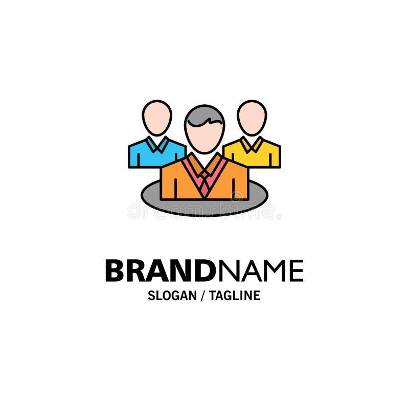 Группа, болтовня, сплетня, шаблон логотипа дела разговора r иллюстрация штока