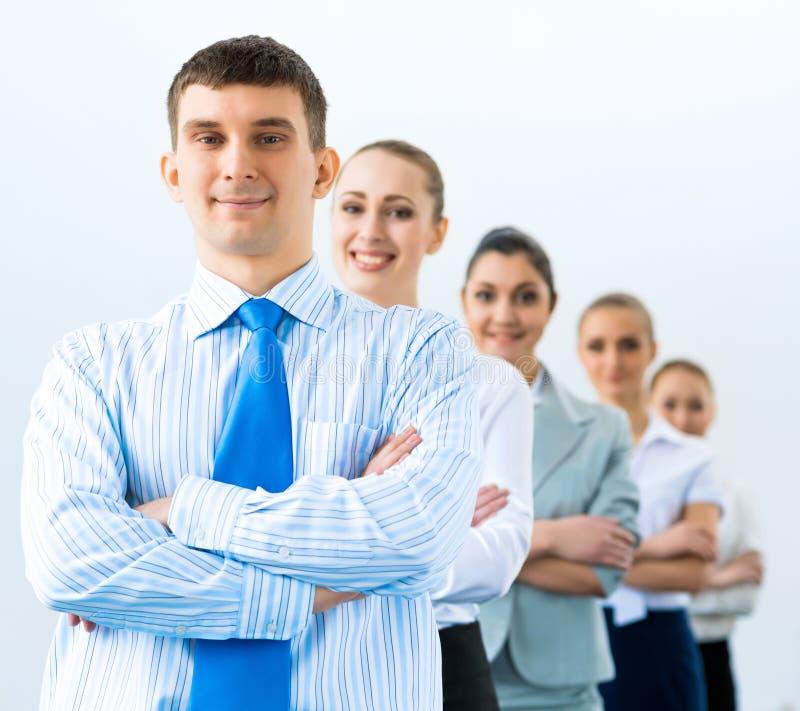 Группа в составе бизнесмены стоковое фото