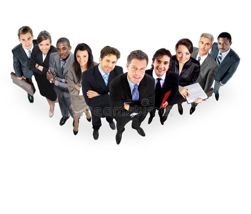 Группа в составе бизнесмены Стоковые Фото
