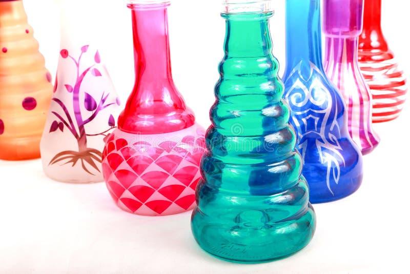 Группа в составе ваза цвета стоковое изображение