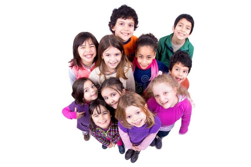 Группа в составе дети стоковая фотография