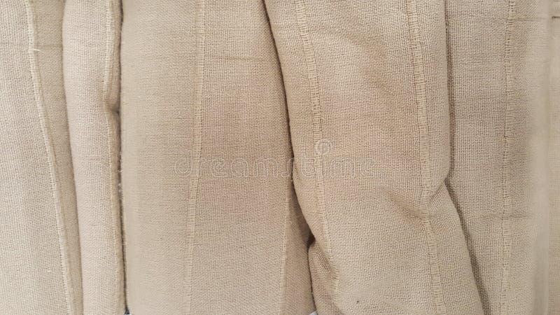 Группа в составе коричневый выбор рулона ткани/запас серой ткани для дела дизайна моды стоковая фотография