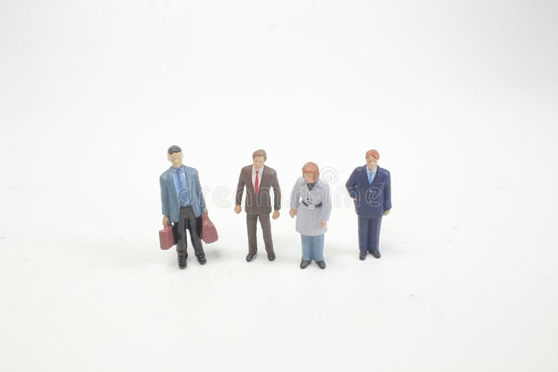 группа в составе малая диаграмма людей стоковое изображение