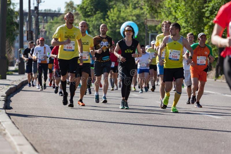 Группа в составе марафонцы стоковые изображения rf