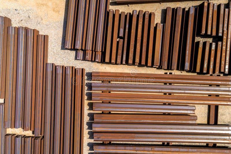 Группа в составе металлические стержни стоковая фотография rf