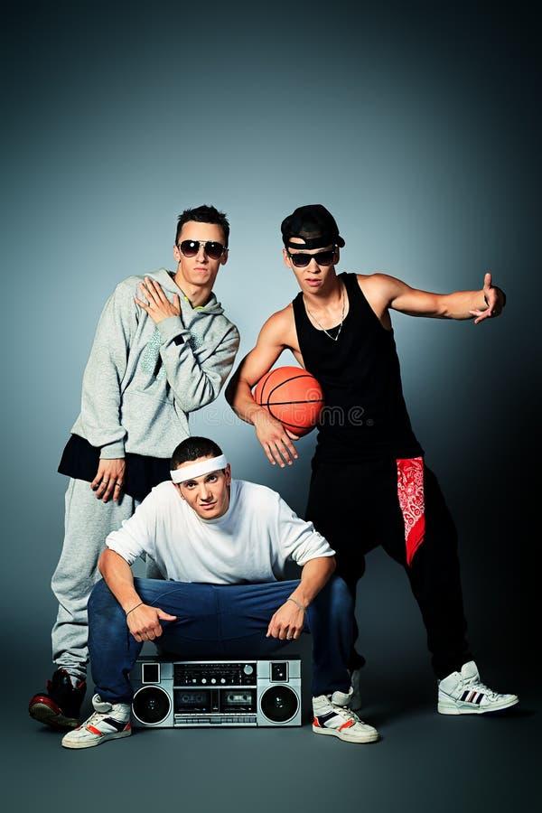 Группа в составе подросток стоковые фото