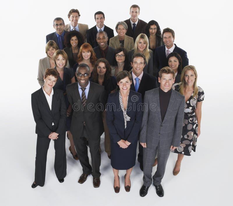 Группа в составе предприниматели стоковое изображение rf