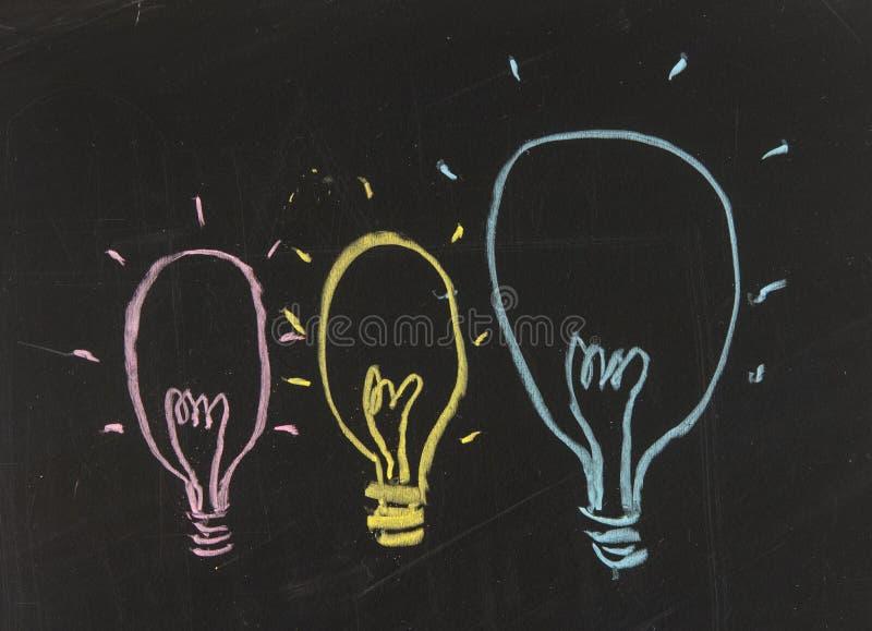 Группа в составе светильники стоковое фото rf