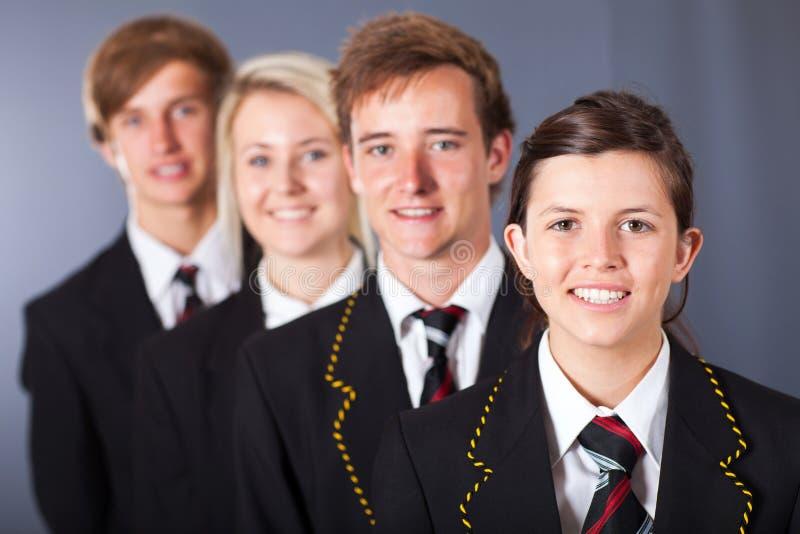 Группа в составе студенты стоковая фотография