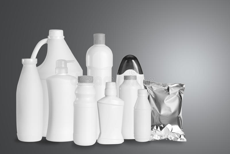 Группа в составе упаковывая продукт стоковые изображения rf