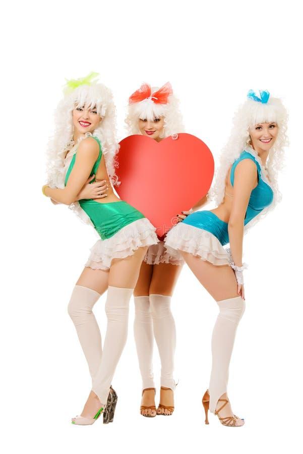 Группа влюбленности стоковое изображение rf