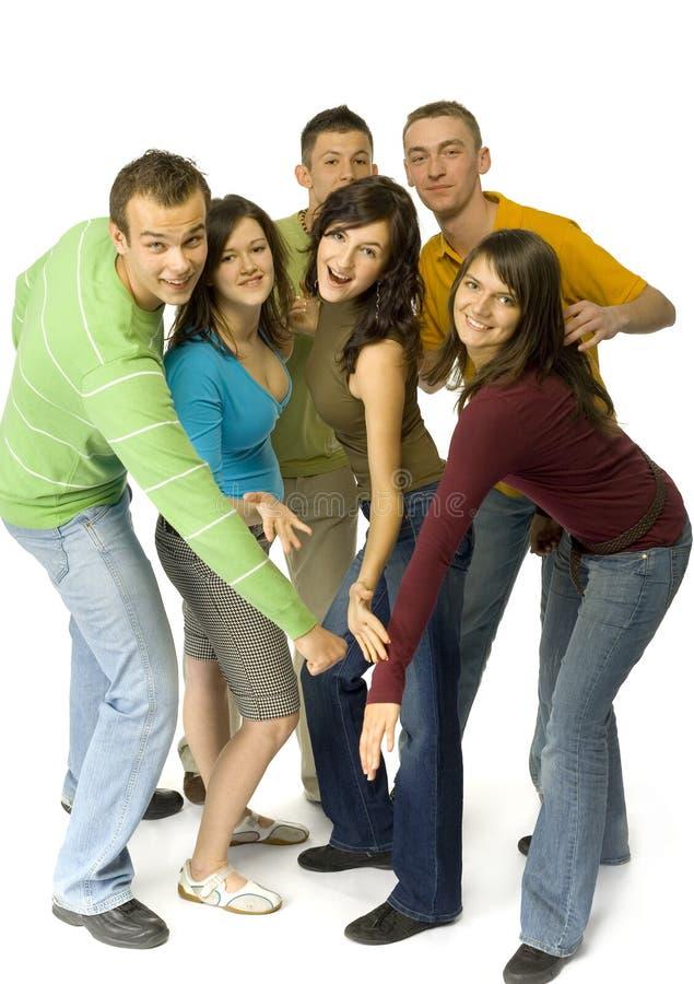 группа друзей стоковое фото rf