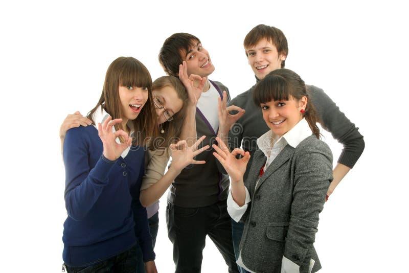 Группа людей стоковое фото rf