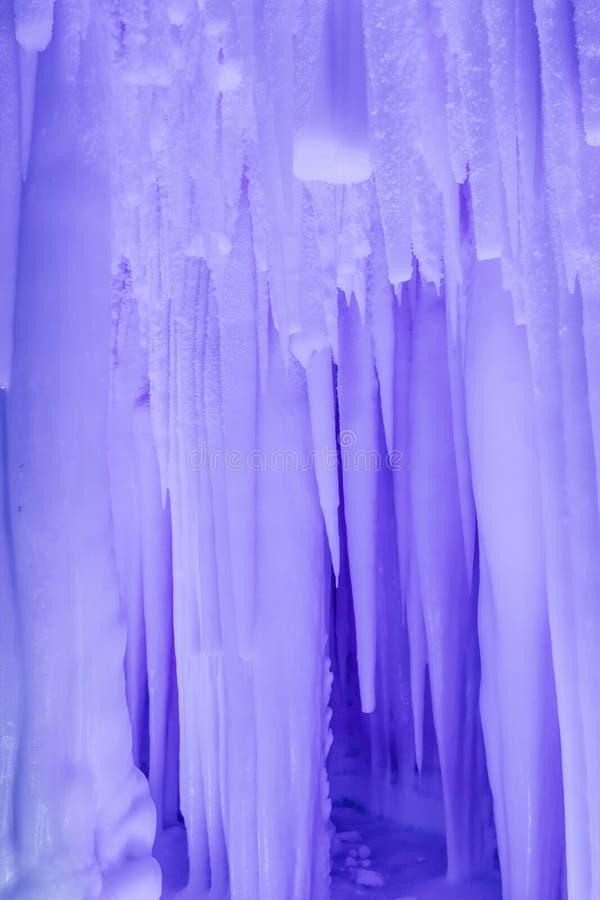 Группа пещеры льда Yunqiushan стоковые изображения