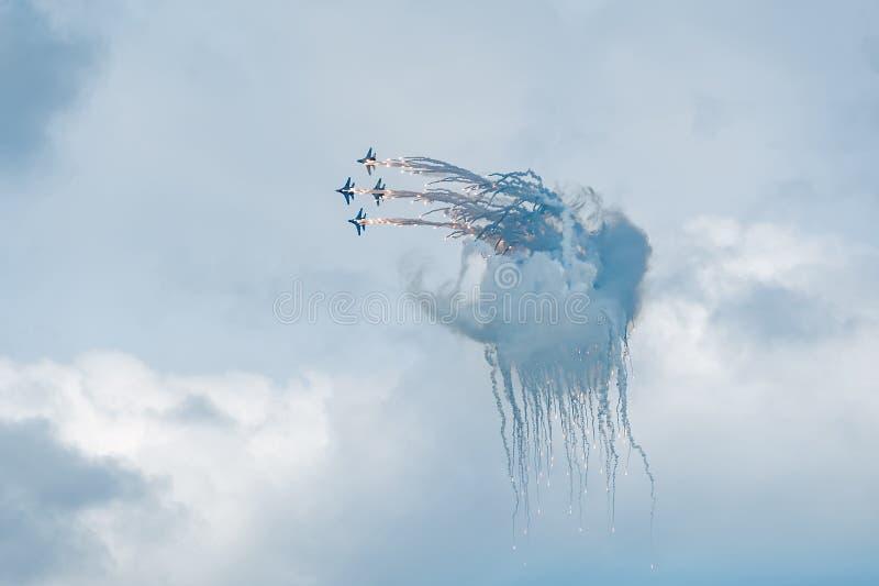 Группа полета стоковые фото