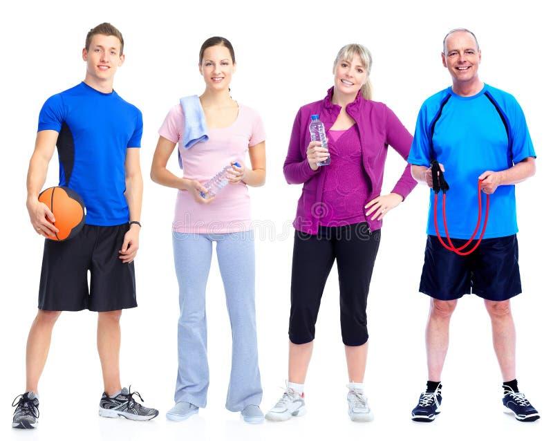Группа фитнеса стоковые изображения