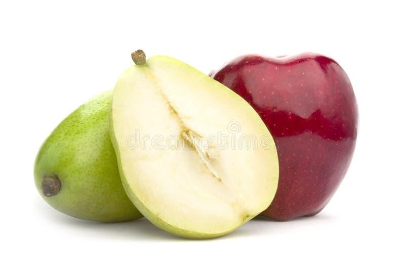 груша яблока стоковые фото