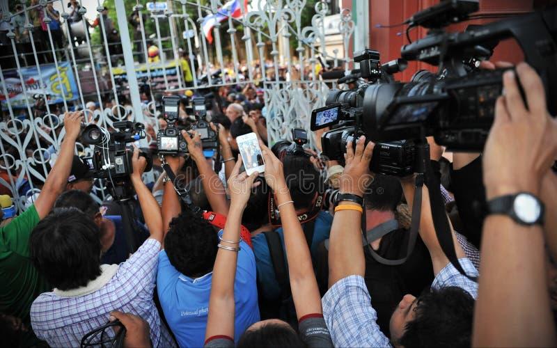 Груда средств массовой информации стоковое фото rf
