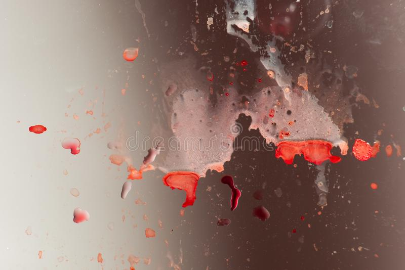 Грязная предпосылка с красными пятнами стоковая фотография rf
