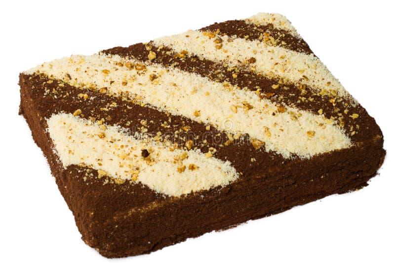 Download губка ек шоколада торта стоковое фото. изображение насчитывающей конфета - 18392878